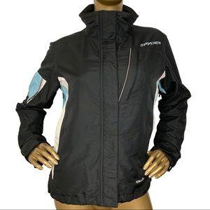 Spyder XScap Black Snowboard Jacket Size 4